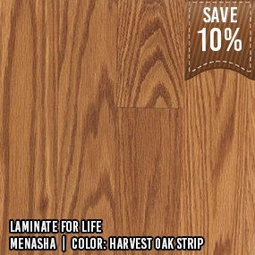 Laminate for Life__Menasha__Harvest Oak Strip