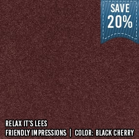 RelaxItsLees__Friendly Impressions__Black Cherry