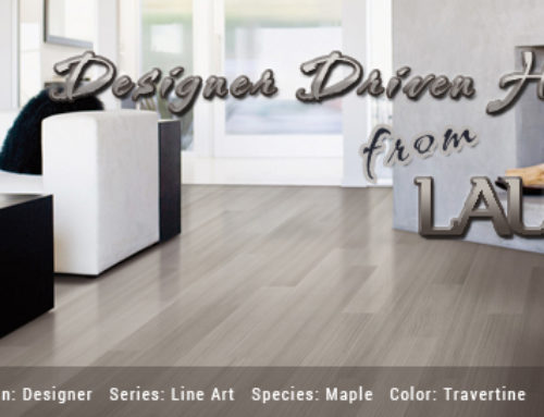 Designer Driven Hardwood from Lauzon Flooring