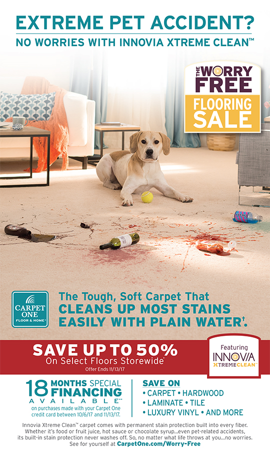 Worry Free Flooring Sale