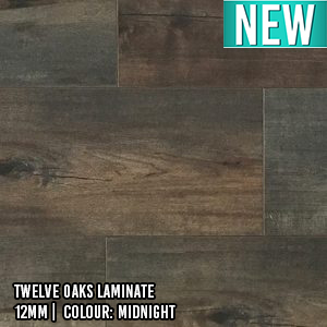 Twelve Oaks Laminate | 12mm | Colour: Midnight