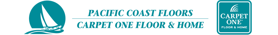 Pacific Coast Floors Carpet One Logo