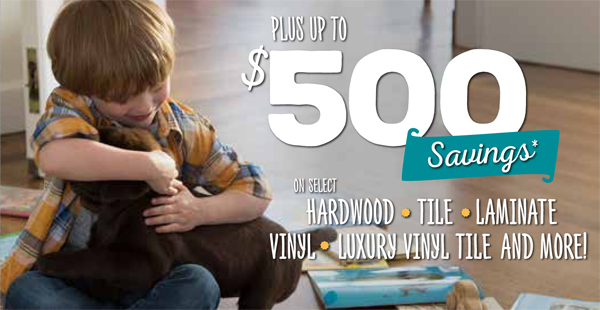 Bring it Home Sale | Save up to 50% on select Innovia carpet and up to $500 on other products