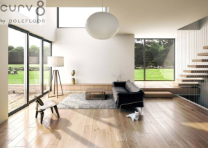 Nordic Living With Curv8 Flooring