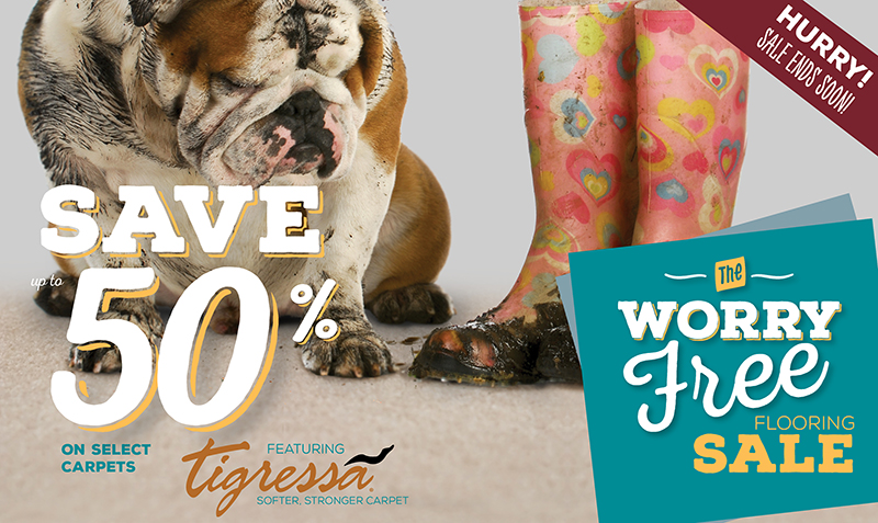 Worry Free Sale | Save up to 50% between Oct 2 - Nov 22, 2015