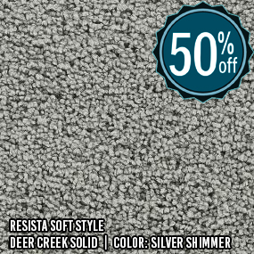 Resista Soft Style__Deer Creek Solid__Silver Shimmer